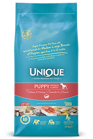 PUPPY DOG MEDIUM-LARGE WITH SALMON-ANCHOVY 15 KG