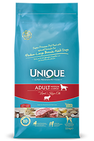 ADULT DOG MEDIUM-LARGE WITH LAMB 15 KG