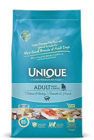 ADULT DOG MINI-SMALL WITH SALMON-ANCHOVY 3 KG