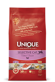 ADULT SELECTIVE CAT WITH SALMON 2 KG